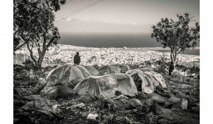 Photo Essay: Beneath the surface of the Mediterranean migrants crisis - Carlos Spottorno - huckmagazine.com