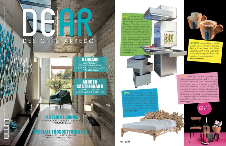 COYPÙ on DE|AR Magazine... ♥