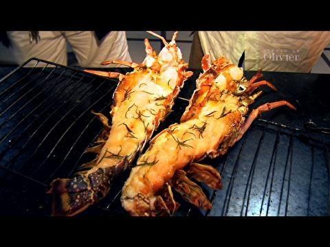 Lagosta grelhada com camarão: receita do 'Diário do Olivier' - Receitas - Receitas GNT