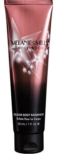 Melanie Mills Hollywood Moisturizing Gleam Body Radiance – Rose Gold, 1 fl.oz.