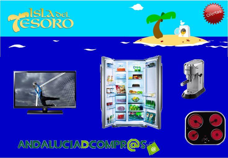 ¿Estás pensando en comprar electrodomésticos? Acércate a la Isla del Tesoro y te sorprenderá siempre con las mejores ofertas!! Visita su tienda online en Andalucía de compras y consulta su amplia gama de productos.