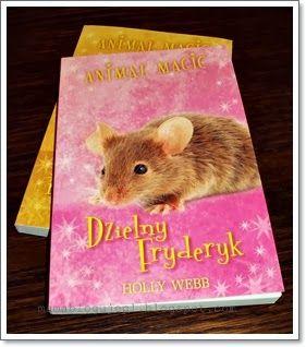 Książki są ostatnio u nas w cenie! :-) Póki są chęci to podczytujemy to i owo. Nawiązując do mojego wcześniejszego książkowego posta, dziś przedstawiamy kolejną cześć przygód Lotki i jej przyjaciół. Tym razem wielka odwagą wykazał się pewien Fryderyk...