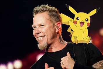 """Someone Made Metallica Sing The """"Pokémon"""" Theme Because Of Course They Did"""