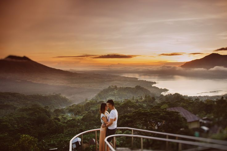 Kintamani Mountain View by Apel Photography for Bali PreWedding Photoshoot