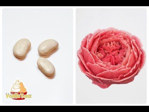 RECIPE / Korean Bean Paste for Flower Piping  (Video Recipe)  ~ Vegan