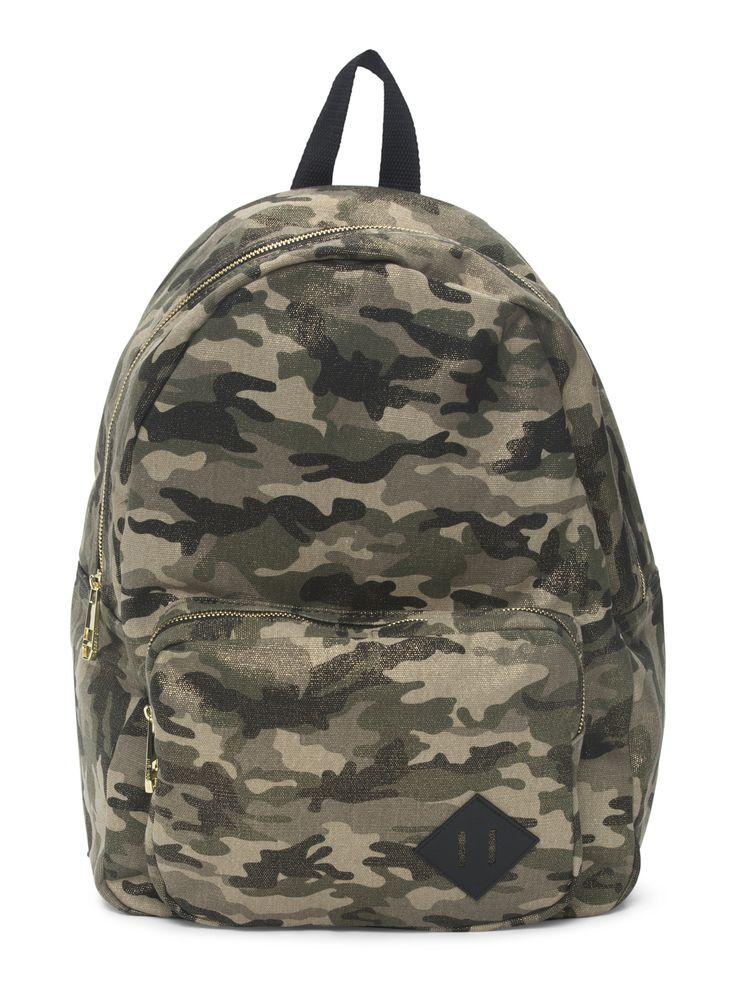 Metallic Camo Backpack