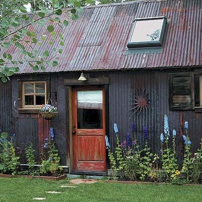 A 300-year-old mining shed is transformed into a cozy home with rustic charm. | Photo: Tim Murphy | thisoldhouse.com