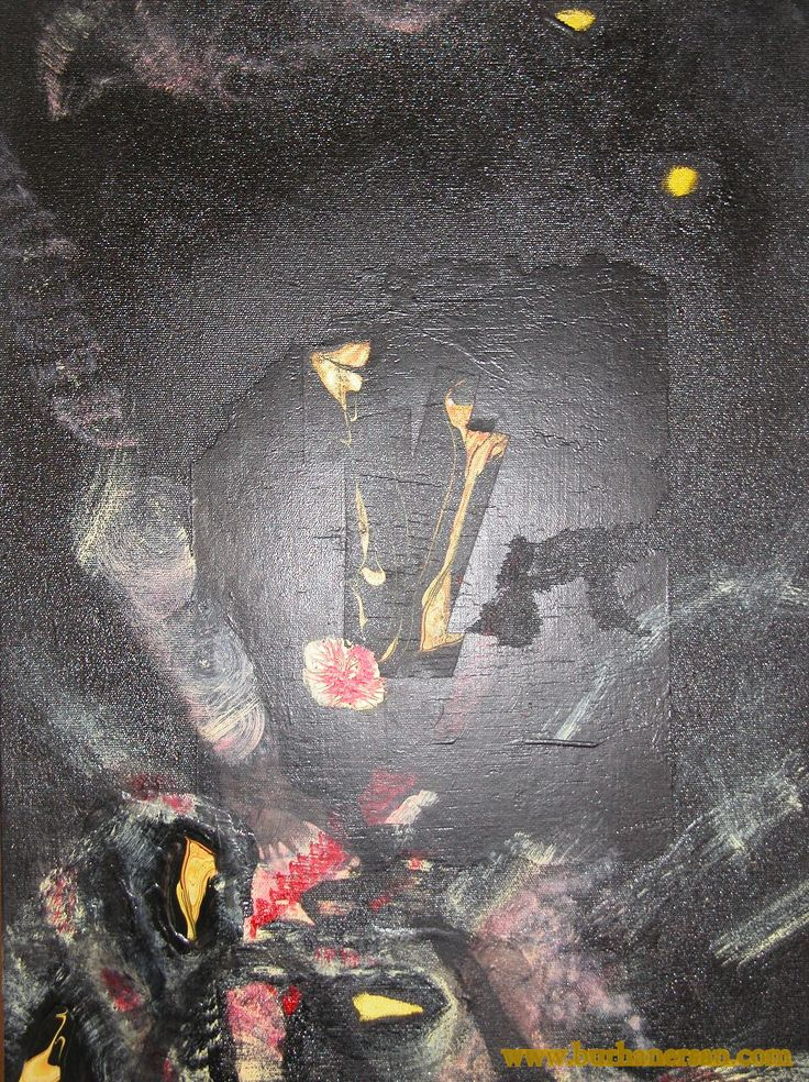 Tuval üzerine Reng-i Su (50x70cm) Reng-i Su on canvas