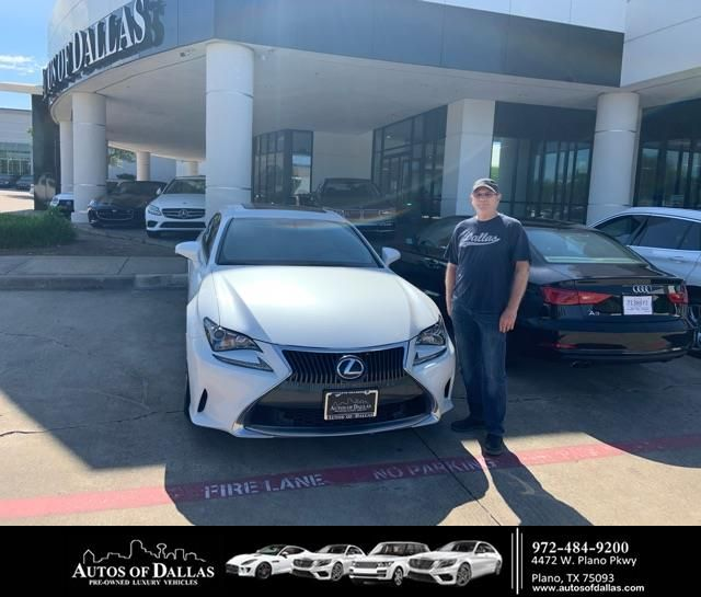 Congratulations Mark On Your Lexus Rc 350 From Pascal Daher At Autos Of Dallas Newcar New Cars Lexus Happy Anniversary
