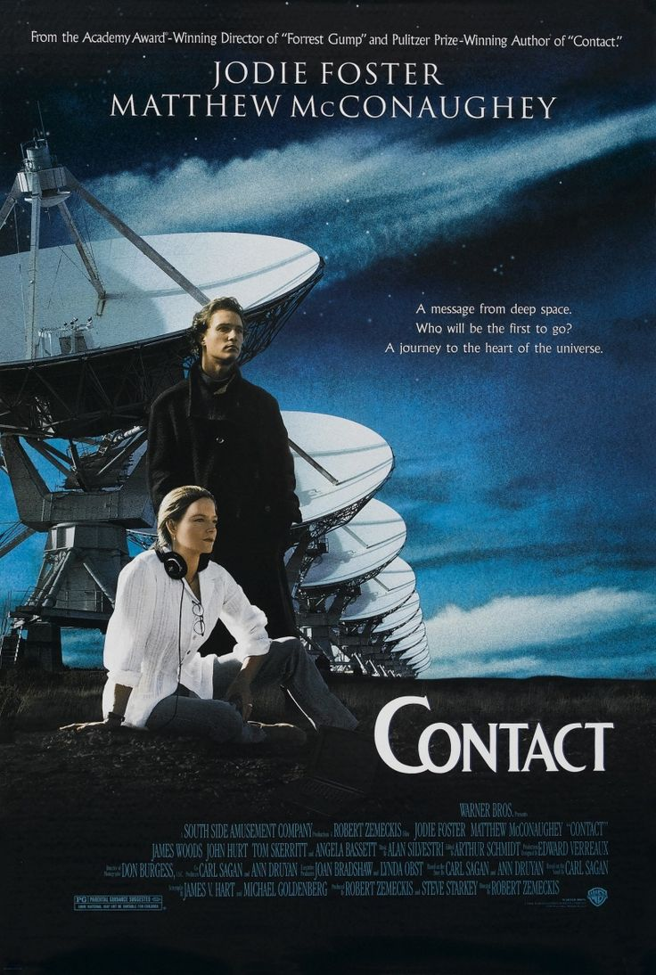 Contact. Directed by Robert Zemeckis (1997).
