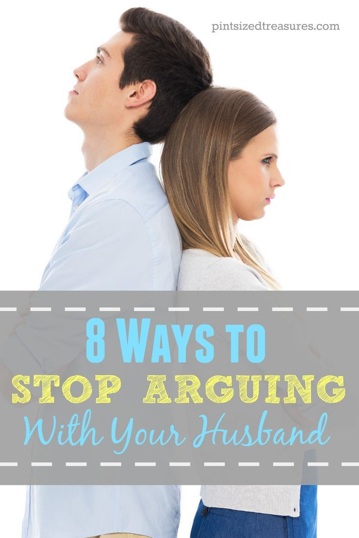 stop the arguing in a relationship