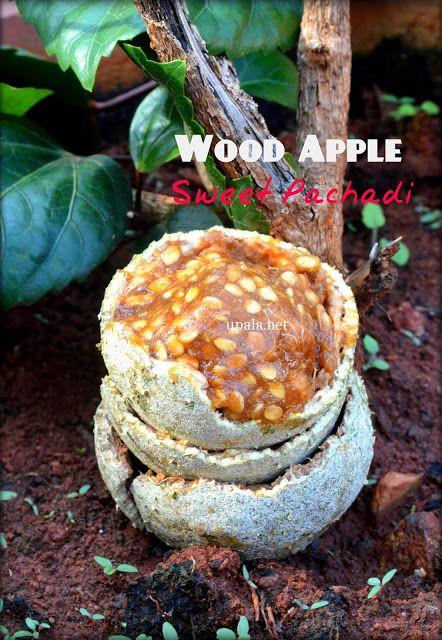Upala: Vilampazham/Wood apple Pachadi  http://www.upala.net/2014/01/vilambazham-pachadi.html