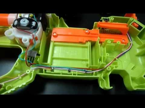 The ULTIMATE Nerf Rayven CS-18 Mod Tutorial (Voltage, Lock Removal, Rewiring) - YouTube