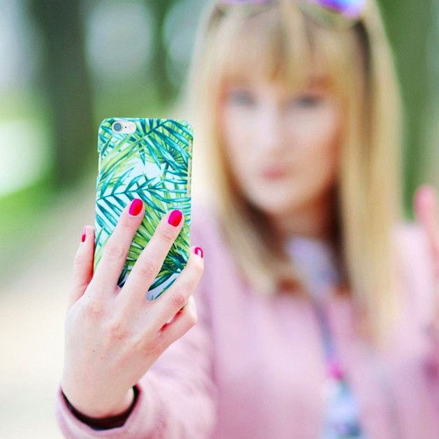 Phone Case - Palm Leaves - ZO-HAN - Obudowy do telefonów