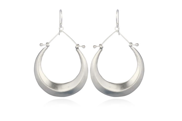 Great everyday silver hoops