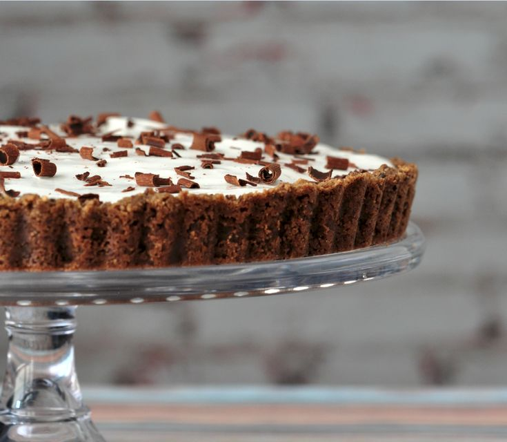 This Gluten-Free Chocolate Cream Pie is light, airy and not too sweet. A creamy chocolate filling and rich chocolate cookie crust create a melt-in-your-mouth dessert. Crisp gluten-free cookies make the best crumbs. If your gluten-free cookies are freshly baked and soft, freeze them for 5 to 10 minutes (unwrapped) to harden and dry before processing them into crumbs. This recipe can be made egg-free; see instructions.