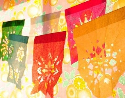 Il_430xN.60095599: Fiestas Parties, Prayer Flags, Papell Picado, Mexicans Parties, May 5, Parties Banners, Mexicans Flags, Paper Banners, Mexican Fiestas