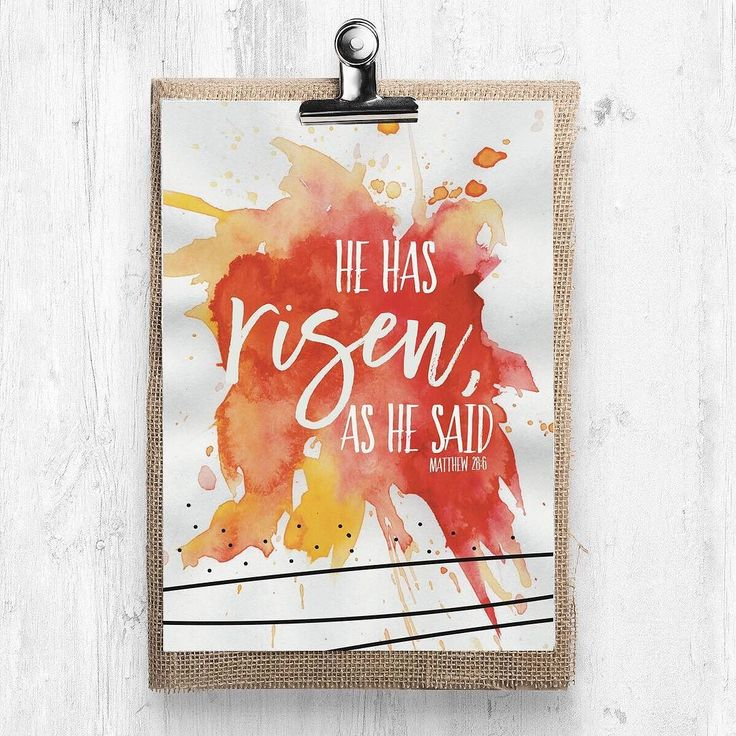 He Has Risen print. Sizes available: 5x7 $12 8x10 $16  11x14 $32  Prints are printed on matboard & do not require framing.  #EarnestEasterPreparation  #prayer #prayers #scripture #dailyscripture  #dailyscriptures #lettering #letteringdesign #shepaintstruth #handlettering #script #encouragement #wordsofencouragement #bible #bibleverseoftheday #bibleverse #truth #biblejournaling #shereadstruth #inspiration #inspirationalquotes #encouragement #prayerguide #motivation #motivationalquote…