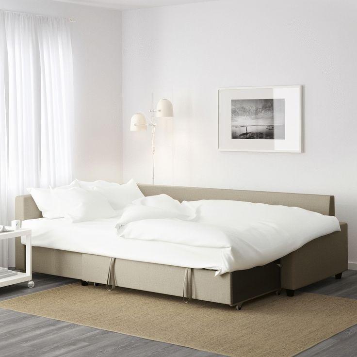Canapea, şezlong şi pat de două persoane, toate într-un singur produs. Până pe 26 octombrie poți găsi canapeaua FRIHETEN la un preț redus. Oferta este valabilă doar pentru membrii IKEA FAMILY, în limita stocului disponibil.