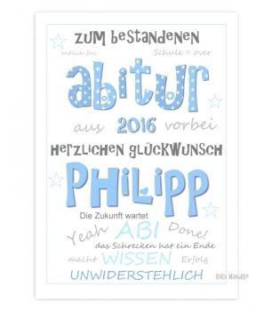 Kunstdrucke-Poster-Plakate-kaufen und schenken. Lustige, smarte Sprüche bei Zeit-Raum-Kunstdrucke. - Gratulation zum Abitur