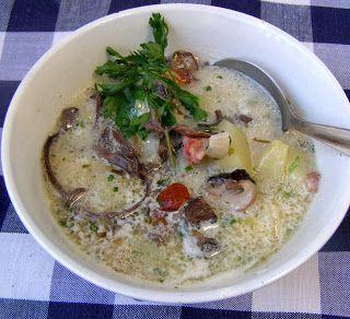 W Mojej Kuchni Lubię.. : zupa ziemniaczana z grzybami mun...