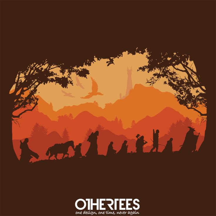 Nine Companions by asners Shirt on sale until 04 May on http://othertees.com #lordoftherings