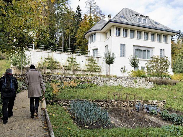 La Maison blanche, opus 1 de Le Corbusier (La Chaux-de-Fonds, Suisse).