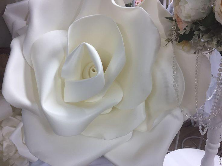 Купить Большие розы d 70 см - большие цветы, ростовые цветы, фом