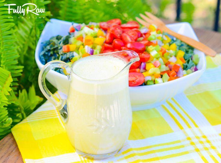 Kristina's Orange Ginger Sesame Salad Dressing; Fully Raw and Vegan