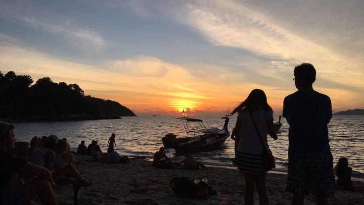 Sunset beach, Koh Lipe, Thailand