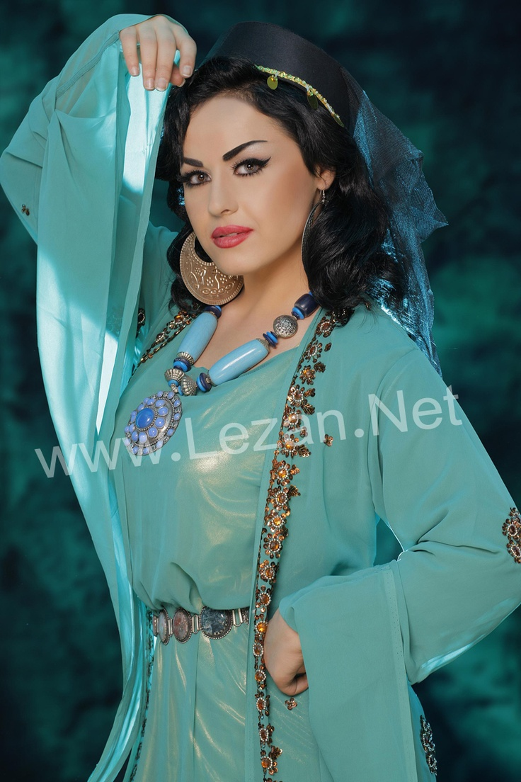 Kurdish Beautiful Blue Dresses
