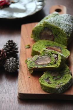 「抹茶の和風シュトーレン。」ChococoHS | お菓子・パンのレシピや作り方【corecle*コレクル】