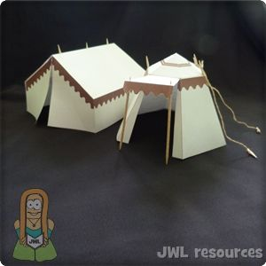 How to make tents for your Bible stories