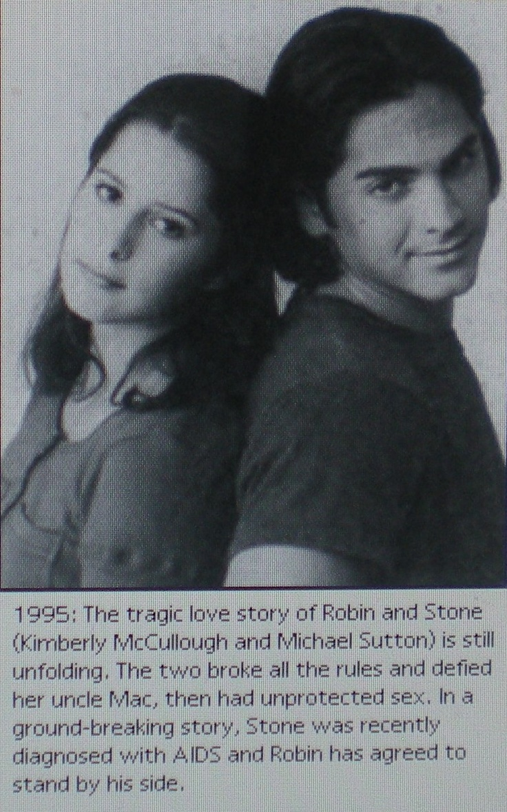 General Hospital Robin and Stone