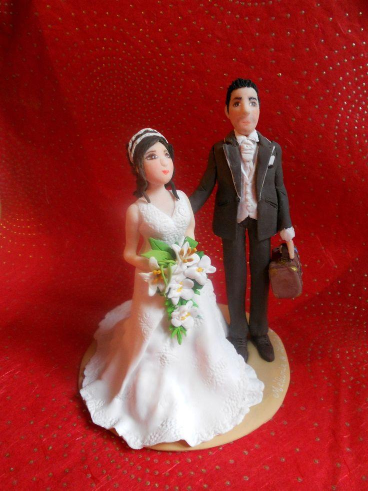 ... en pâte fimo  DIY Mariage Baptême Anniversaire  Pinterest  Fimo