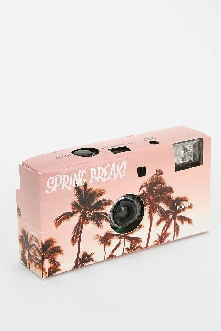 Disposable Camera from Urban Outfiters- has cool graphics pre-printed onto the film to make you pictures look edgy without a lot of effort.