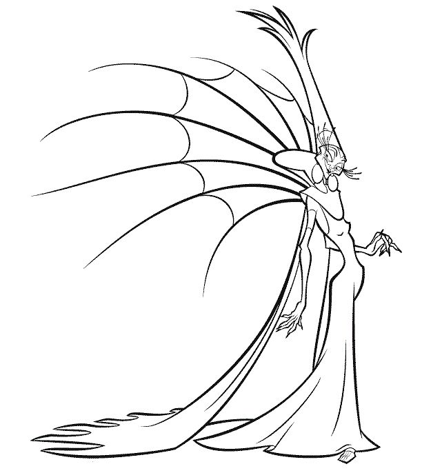 Free Yzma Coloring Pages Auto Electrical Wiring Diagram