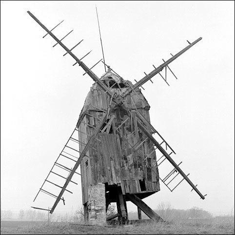 Windmill In Eastern Germany (Photo by Reinhard Krause)