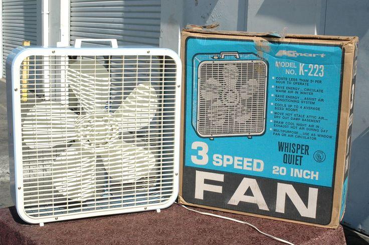 Kmart Box Fan : Best sears fans images on pinterest vintage