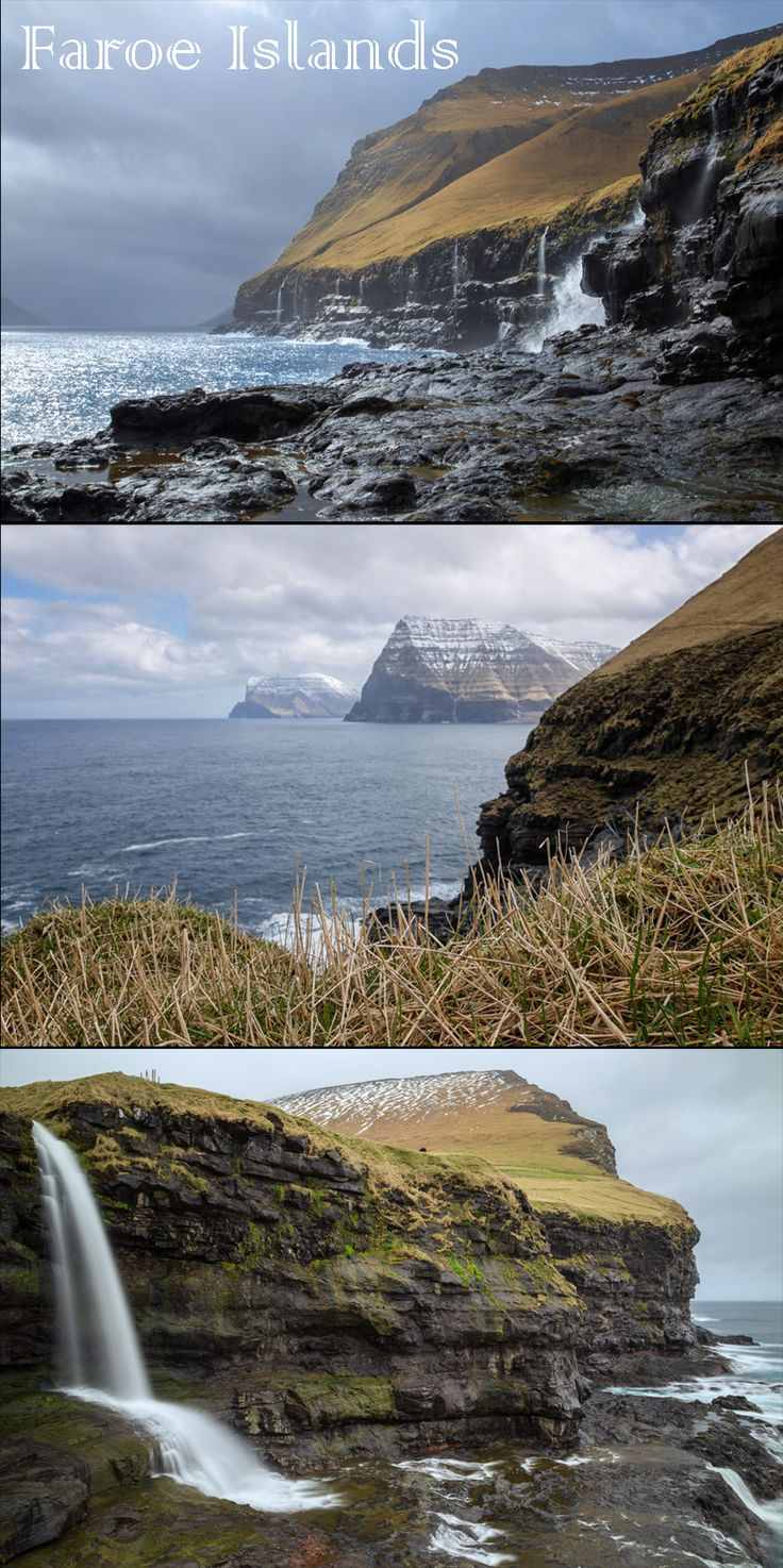 """""""We had plenty of time between ferries to get to the most northern tip. And with just one highway, there was no need for a map for our trip to the small island. Or so we thought."""" Click to read more about our trip to the Faroe Islands!"""