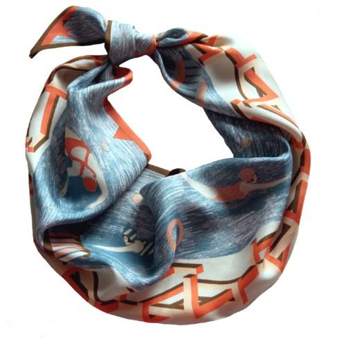 Olympic scarf by Karen Mabon
