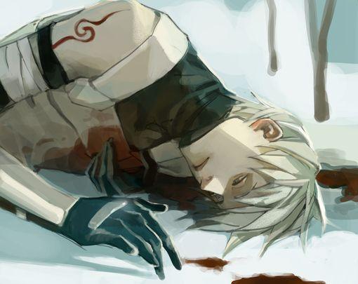 Kakashi ;-; <3 i love you long time