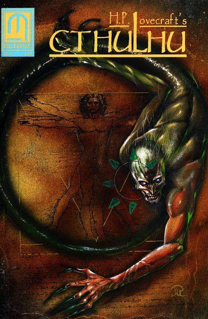 H. P. Lovecraft's Cthulhu #3 from Millennium Comics   comic books comics Cthulhu Lovecraft