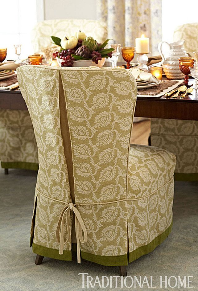 Dining Room Slip Covers For Chairs