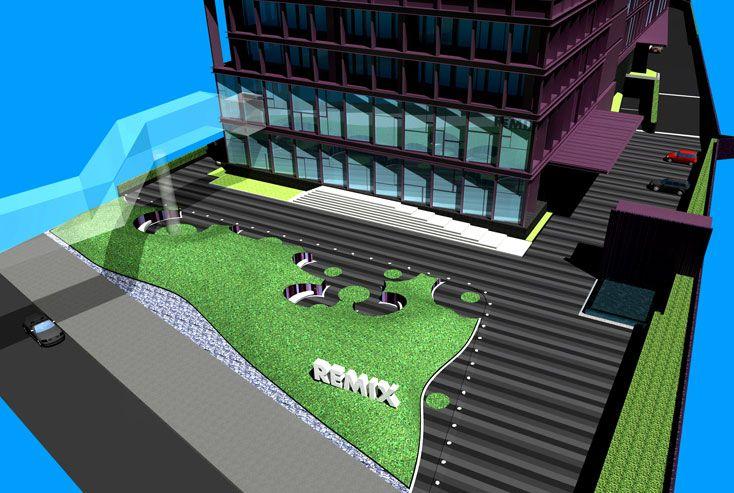 T.R.O.P. terrains + open space