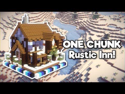Minecraft: Rustic Inn in ONE CHUNK! [Tutorial] - YouTube