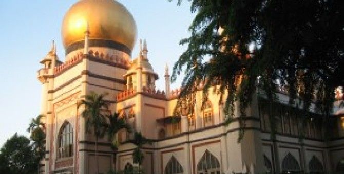 first Sultan Mosque of singapore
