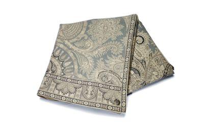 Paisley blanket in 100% merino ull from Florence Design.