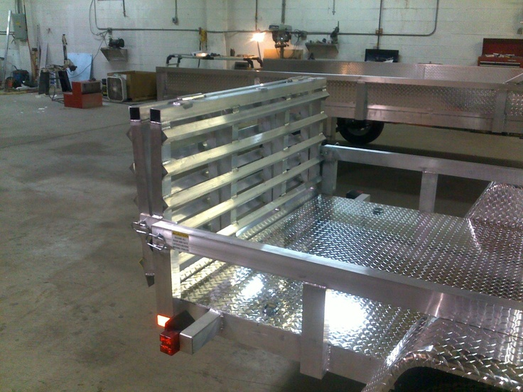 2013 Cargomaxxx 5 x 10 Aluminum Utility Trailer HD Model | eBay
