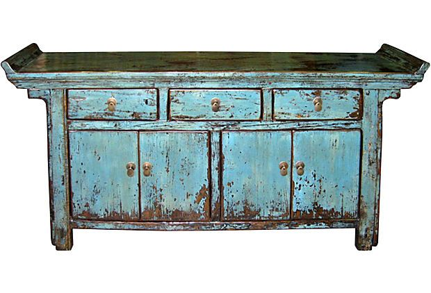 My Big Blue Buffet, is like my Lil' Red Corvette, for my home